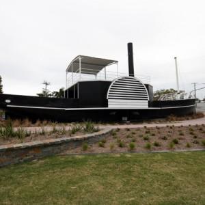 Maid of Sker, paddle steamer, Bischoff Park, Nerang, Queensland, circa 2010 Cal Mackinnon, photographer