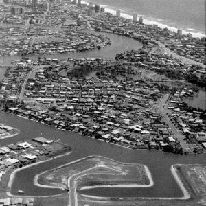 The last area of development of Florida Gardens, circa 1981. L. Cleland, photographer