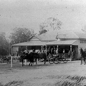 The Gem Hotel, Alberton, circa 1911-1912. Photographer unknown
