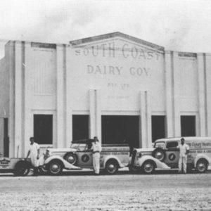 South Coast Dairy, Scarborough Street, circa 1936. Photographer unidentified