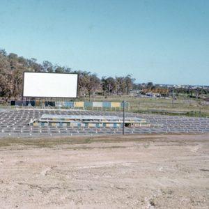 Burleigh Drive-In Theatre, West Burleigh Road, circa 1959. G. A. Black, photographer