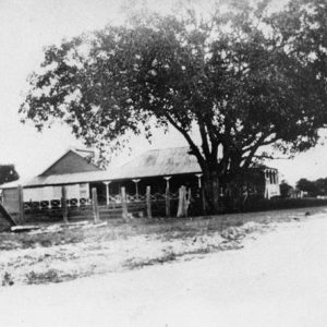 Meyer's Ferry Hotel, Surfers Paradise, circa 1898. Photographer unknown