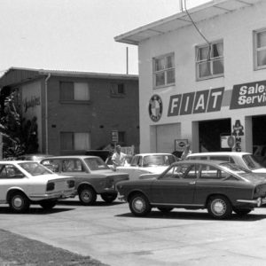 Airport Motors Centre Pty Ltd, Bilinga, 1971. Bob Avery photographer